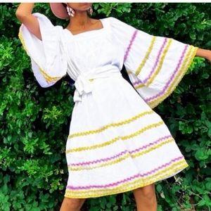 Lisa Marie Fernandez folk peasant dress
